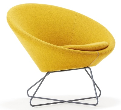 Conic Tub Chair Front Angle