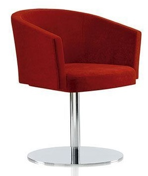 Zone A Chair Red Fabric