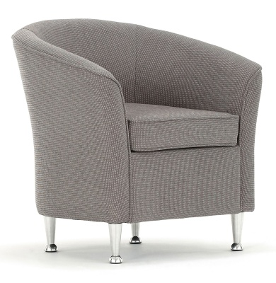 Barolo Tub Chair Front Angle