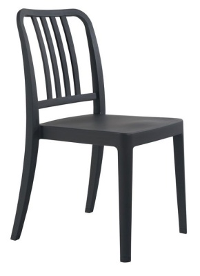 Navy Chair Black