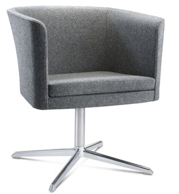 Courier Tub Chair With A Four Star Base 2