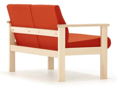 Studio Two Seater Sofa Reverse Angle