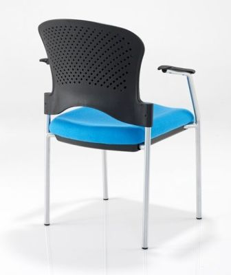 Sonata Chair With Arms Rear Shot