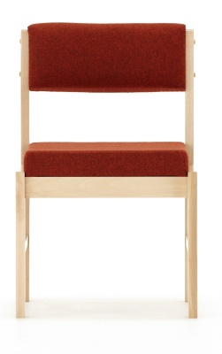 Consort Wood Framed Conference Chair Front Facing