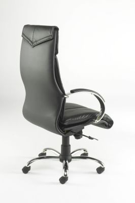 Valentino Black Premium Managers Chair With Large Back