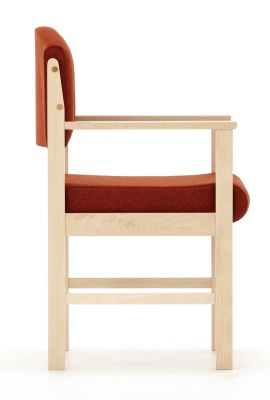 Consort Ve Wooden Armchair Side View