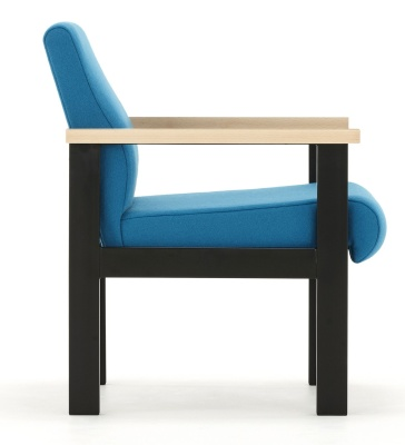 Stella Low Armchair Side View