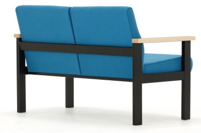 Stella Two Seater Sofa Back Angle