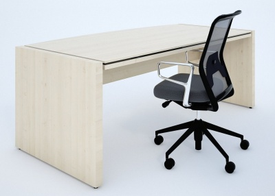 Stratus Executive Desk User Side