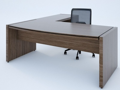 Stratus Desk And Return