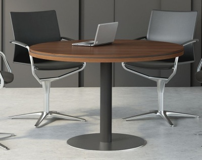 Stratus Circular Meeting Table