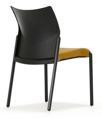 Trillipse Chair Rear Angle Upholstered Seat