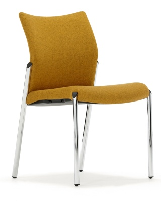 Trillipse Chair Fully Upholstered Front Angle