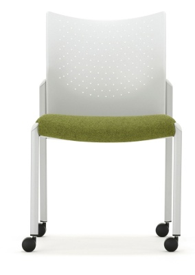 Trillipse Chair Mobile With Upholstered Seat Front View