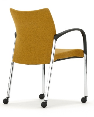 Trillipse Fully Upholstered Armchair Rear Angle