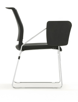 Adlid Chair With Writing Tablet Side Shot