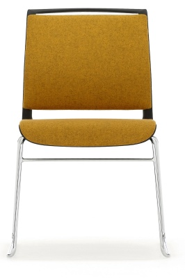 Ad Lib Fullyu Upholstered Chair Front View