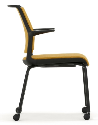 Ad Lib Mobile Conference Chair Side View