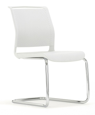 Ad Lib Cantilver Chair Front Angle View
