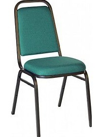 Contract Banqueting Chair Green