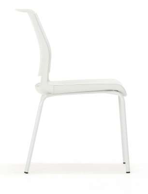 Ad Lib Conference Chair With Four Legs Side View