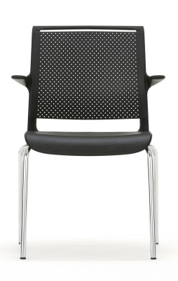 Ad Lib Conference Chair With Arms Facing