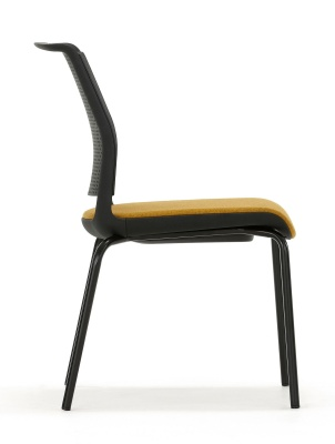 Ad Lib Chair With An Upholsterred Seat View