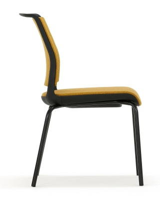 Ad Lib Fully Upholstered Chair Side View