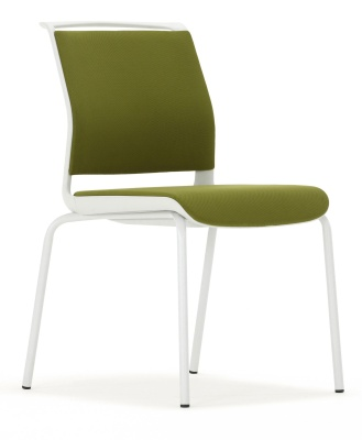 Ad Lib Front Angle In Green With A Light Grey Frame