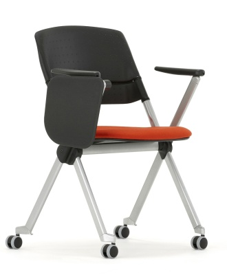 Pyramid Chair With Tablet Front Angle