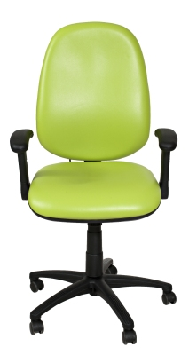 Kinetic Chair Lime Green Vinyl