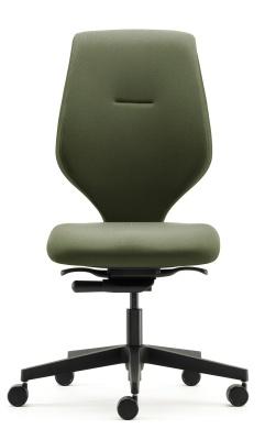 Ess Task Chair No Arms Black Base