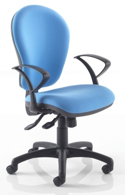 Instinctiva Chair With Fixed D Arms