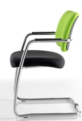 Mitre Cantilever Meeting Chair With Stylish Floating Back Design