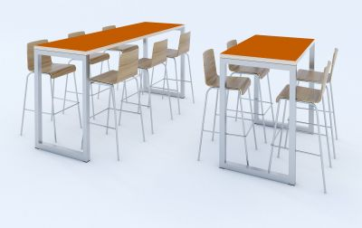 Transter Bar Height With Stools