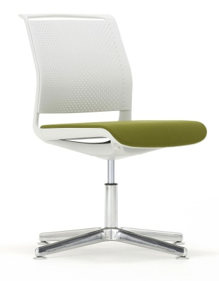 Ad Lib Four Star Chair With An Upholstered Seat