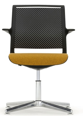 Ad Lib Conference Arm Chair Front Facing