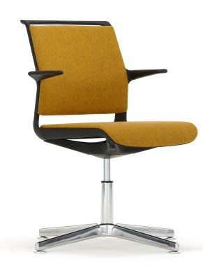 Adlib Four Star Conference Arm Chair Front Angle