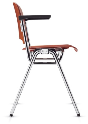 Stato Sdesigner Plywood Arm Chair Side View