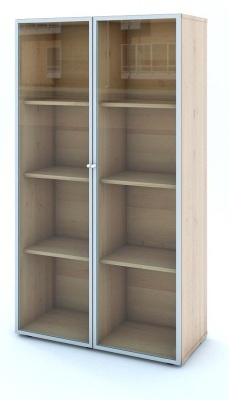 Mito Executive Cupboard With Glass Doors