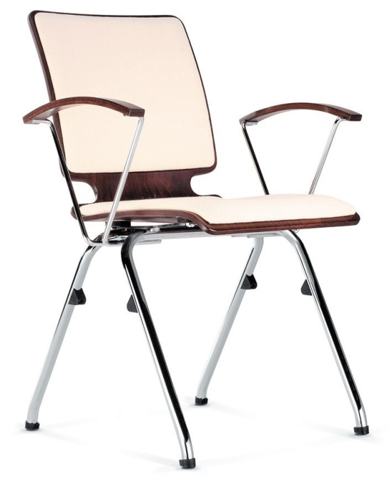heavy duty plywood arm chair axo upholstered seat and
