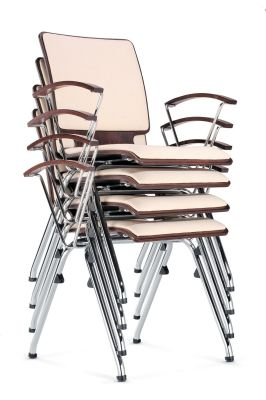 Axo Arm Chairs Stacked