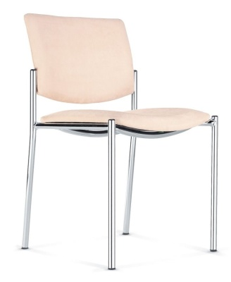 Zen Mid Back Conference Chair Without Arms