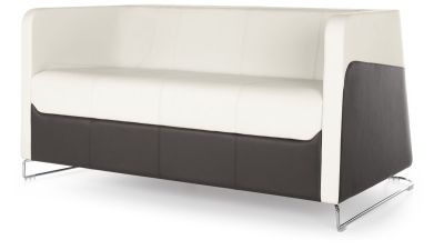 Granite Two Seater Sofa Front Angle
