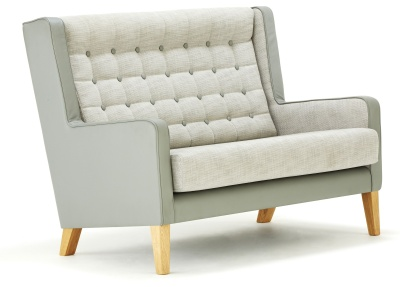 Grainger Luxury Wingback Sofa Front Angle