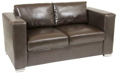 Ramsden Two Seater Leather Sofa 2