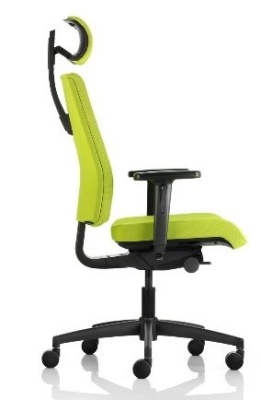 Opus Ergonomic Chair Side View