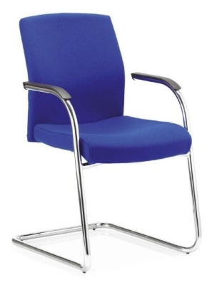 Sector Cantilever Chair Front Angle