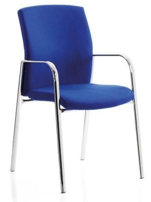 Sector Four Leg Conference Chair Front Angle