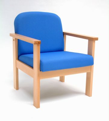 Leicester Low Wood Framed Armchair